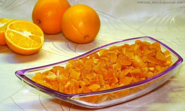 Цукаты апельсиновых корок рецепт с фото