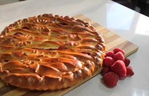 дрожжевые пироги, открытые пироги, сладкие пироги