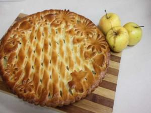купить пирог, пироги на заказ, с яблоками, доставка
